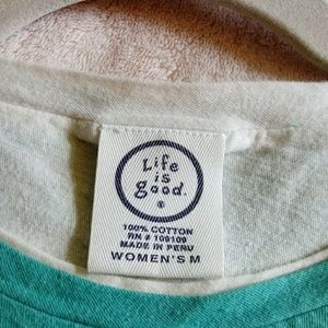 Life Is Good Tops - Life is Good Long Sleeve T--shirt M